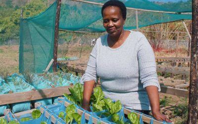 A Booming Community Garden and the Woman Behind it